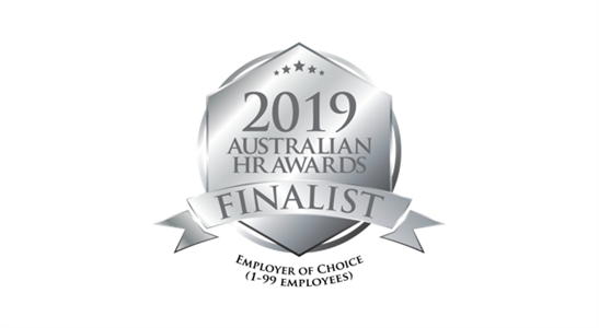 QA - EMPLOYER OF CHOICE FINALIST AT THE 2019 AUSTRALIAN HR AWARDS