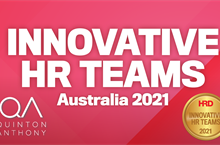 QA RECOGNISED AS AN AUSTRALIAN INNOVATIVE HR TEAM OF 2021